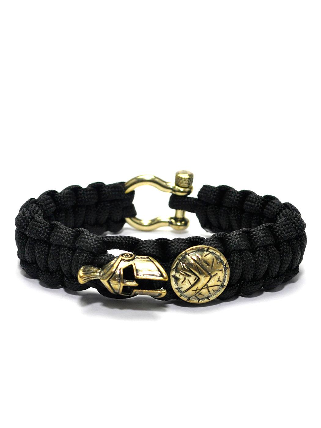 Spartan Bracelet Black,