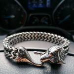 Gold Viking Bracelet New York