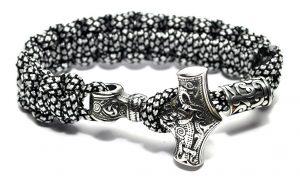 Mens Viking Style Bracelet
