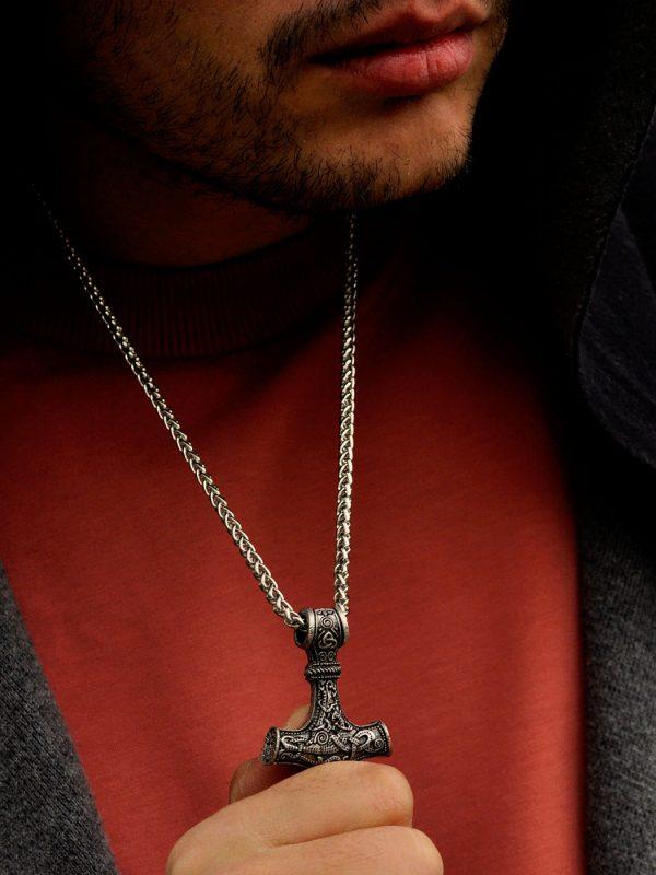Mjolnir Hammer Necklace New York
