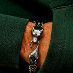 Nordic Wolf Bracelet New York