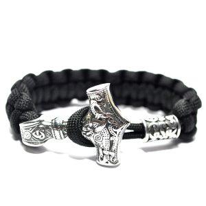 Thor Bracelet Black, Odin Bracelet Los Angeles