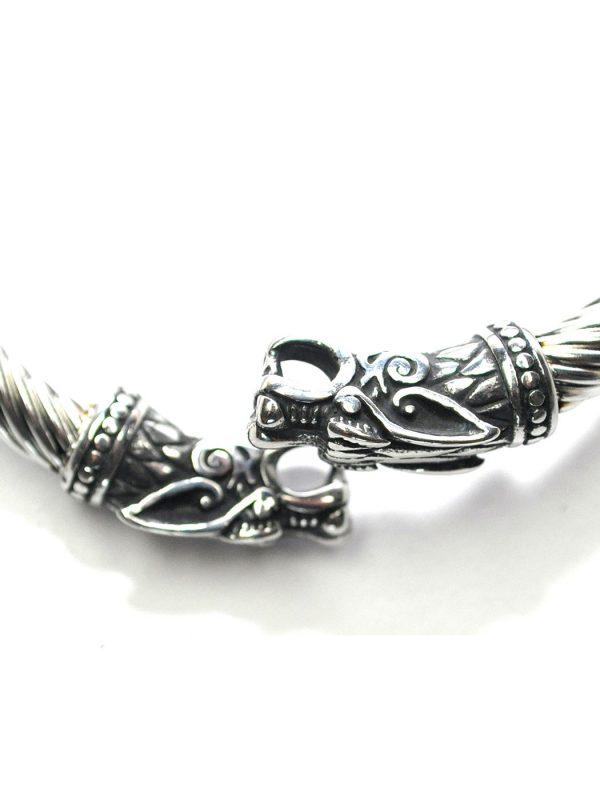 Silver Viking Arm Ring