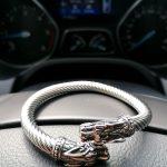 Silver Viking Bracelet New York