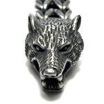 Silver Wolf Bracelet New York