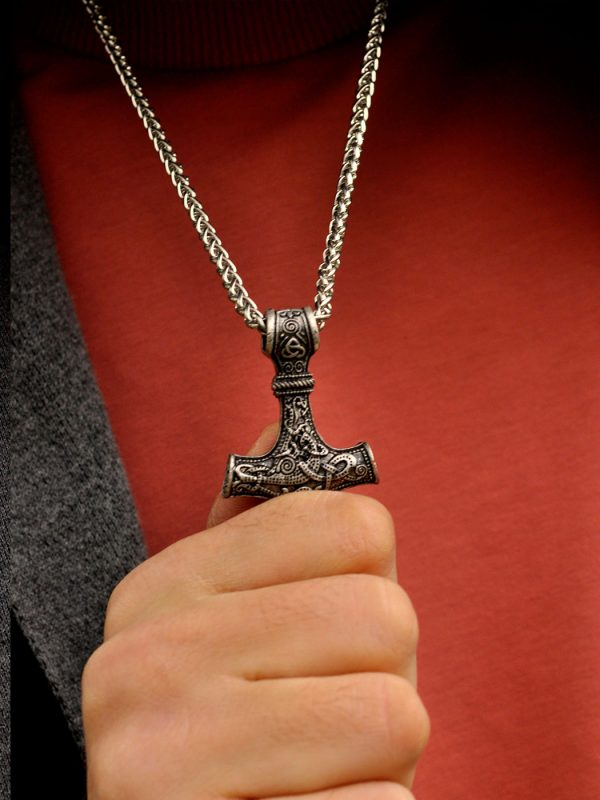 Sterling Silver Thor's Hammer New York