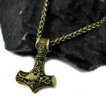 Valhalla Gold Necklace New York