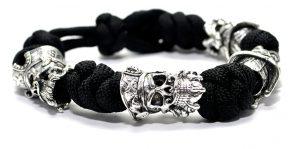 Blackbeard Bracelet Black, Viking Arm Ring Ragnar