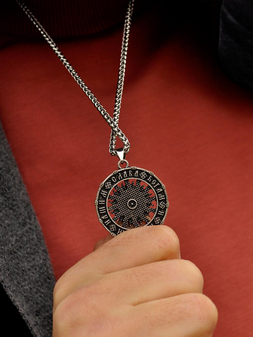 Viking Cross Necklace New York