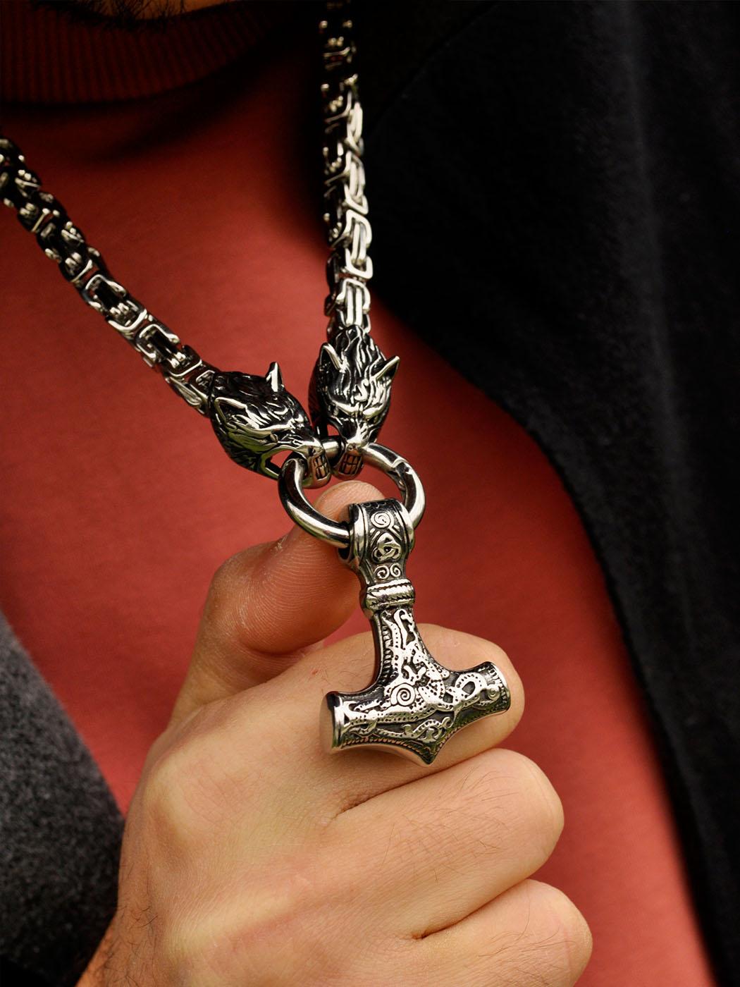 Viking Hammer Necklace New York