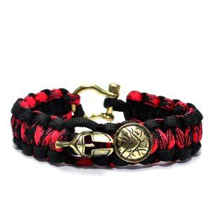 Spartan Bracelet Red, Vikings Series Bracelet