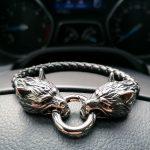 Wolf Charm Bracelet New York