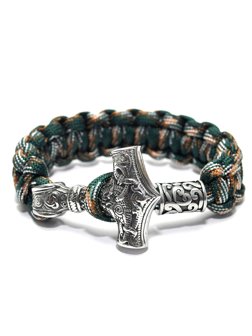 Thor Bracelet Green, Wolf Wristband Los Angeles, Fenrir Armband Los Angeles